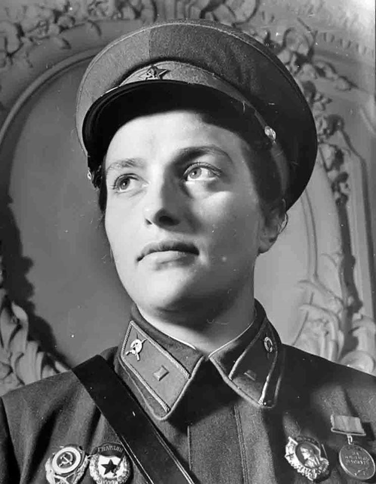 Настоящая Людмила Павличенко