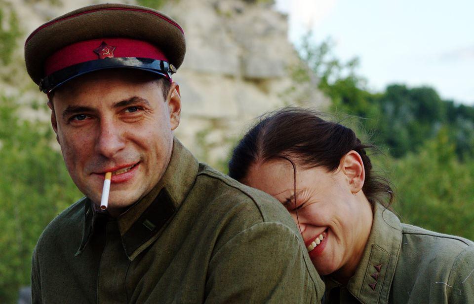 Евгений Цыганов и Юлия Персильд