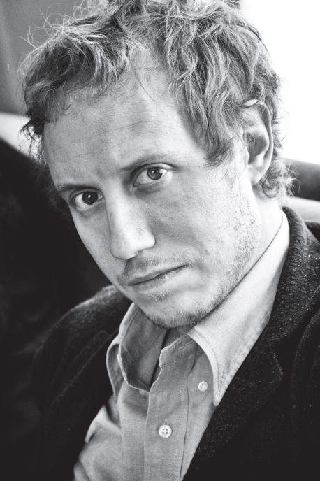 Портрет Ласло Немеша работы Михаила Лемхина.